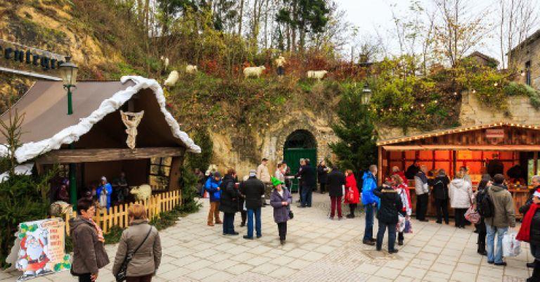 Valkenburg marchés de Noël dans les grottes