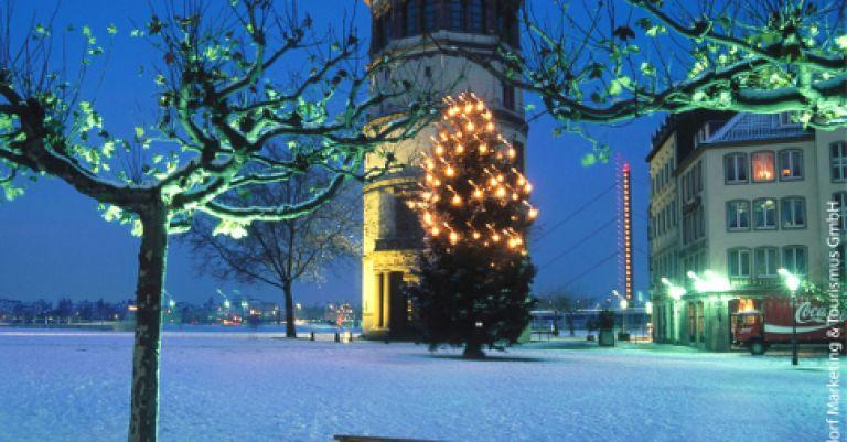 Düsseldorf marché de Noël