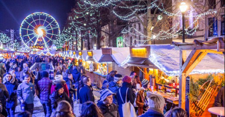 Bruxelles marché de Noël