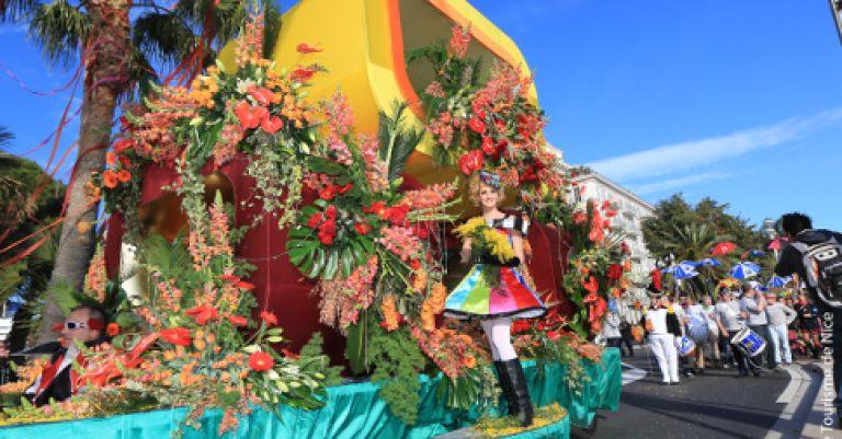 Carnaval de Nice (hébergement en village vacances)