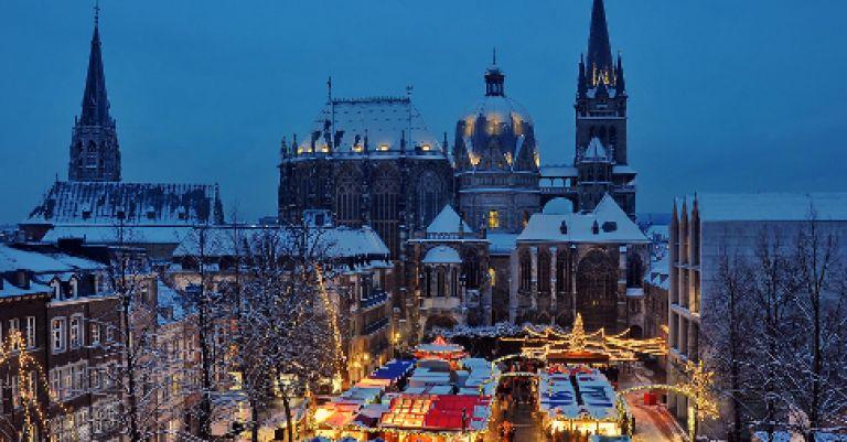 Marché de Noël d'Aix la Chapelle