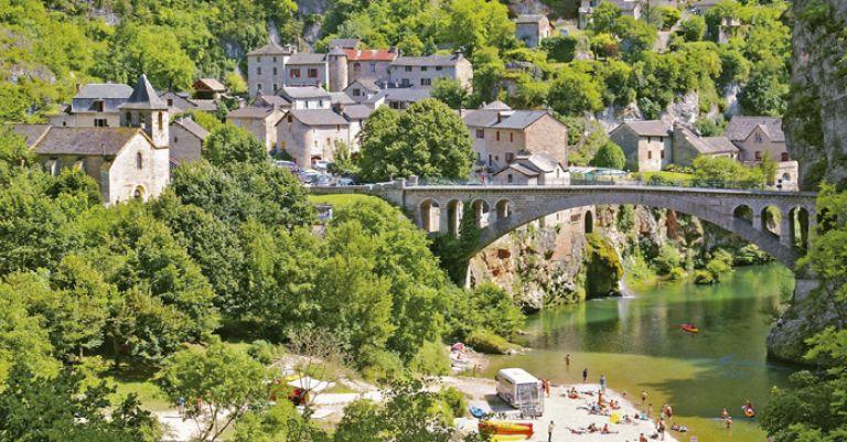 Aveyron - Gorges du Tarn & Viaduc de Millau